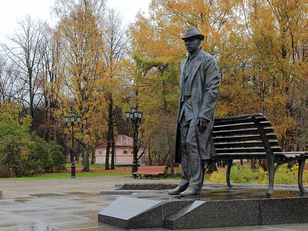 Памятник Сергею Рахманинову в Великом Новгороде