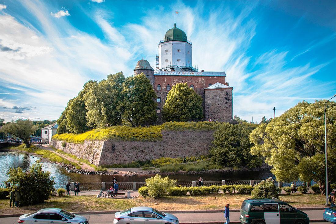 Фото Выборгского замка