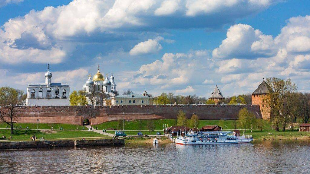 Фото Новгорода весной