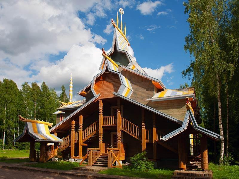 Фото деревни Мандроги