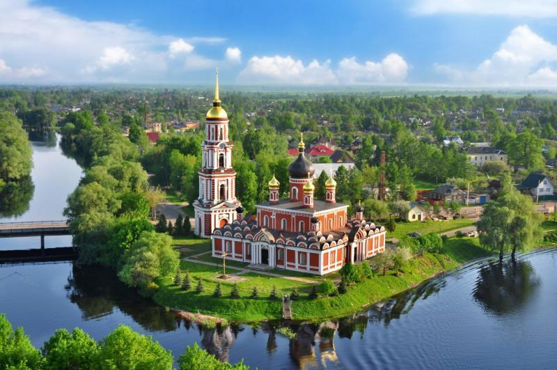 Фото Старой Руссы весной