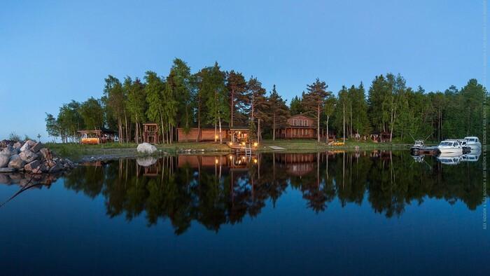 Фото комплекса для отдыха в Карелии