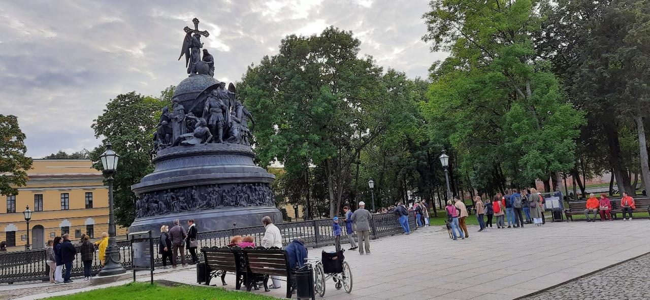 Фото памятника «Тысячелетие России»