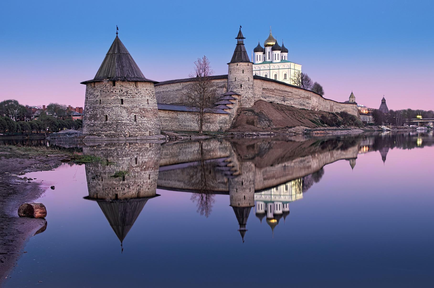 Фото Пскова – одной из пяти крепостей Руси