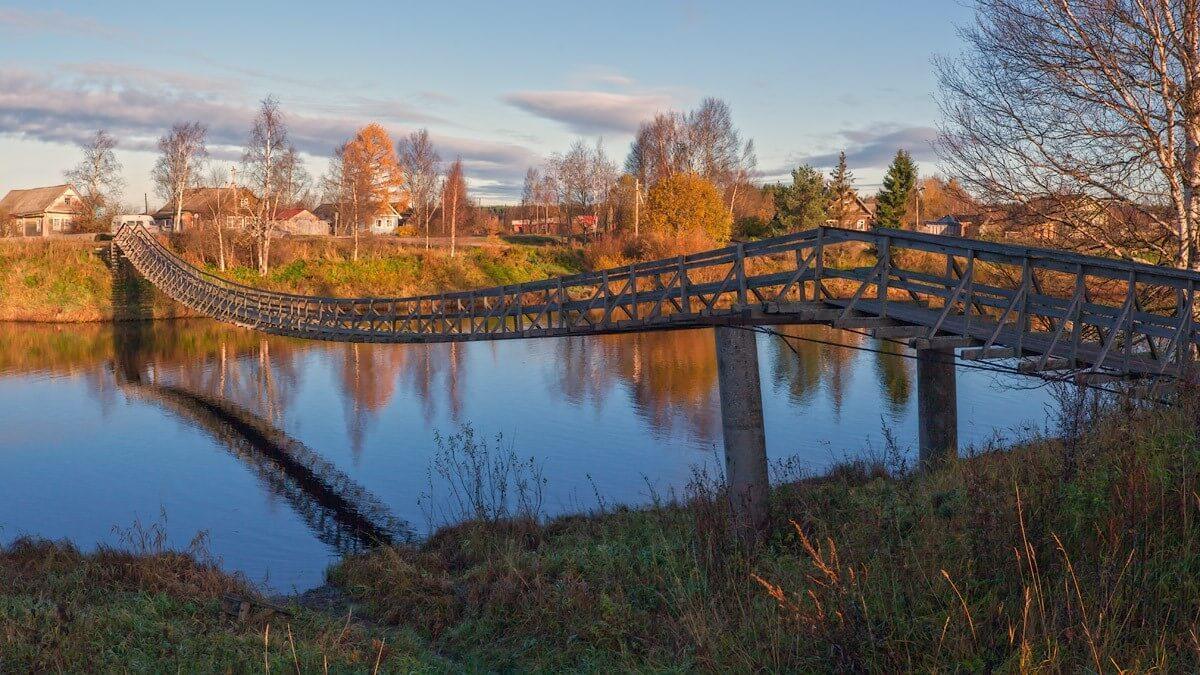 Фото мостов Олонца