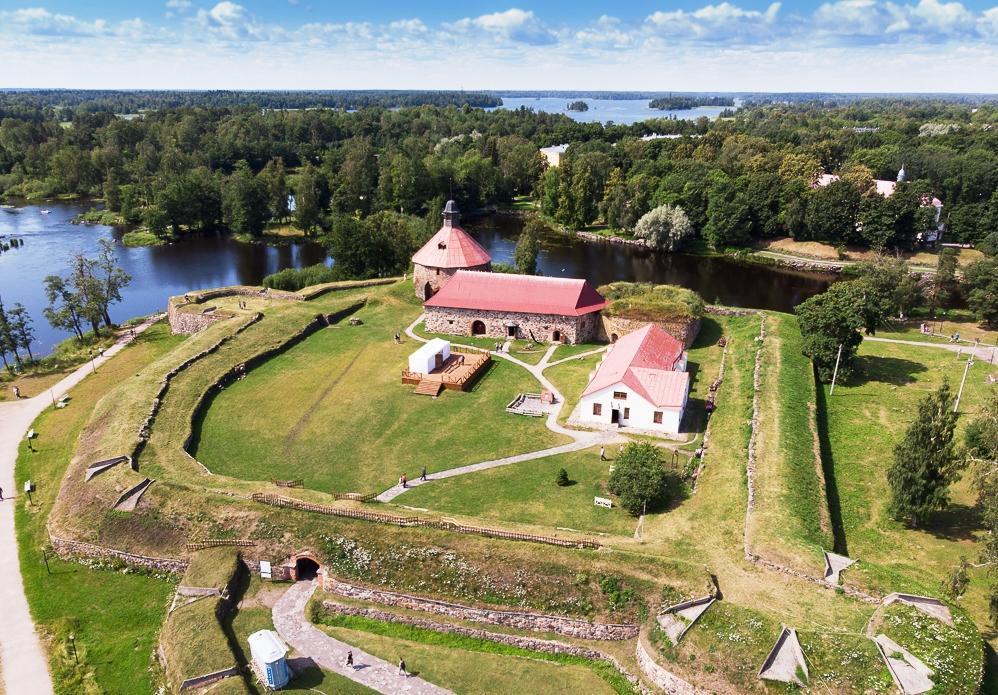 Фото крепости Корела