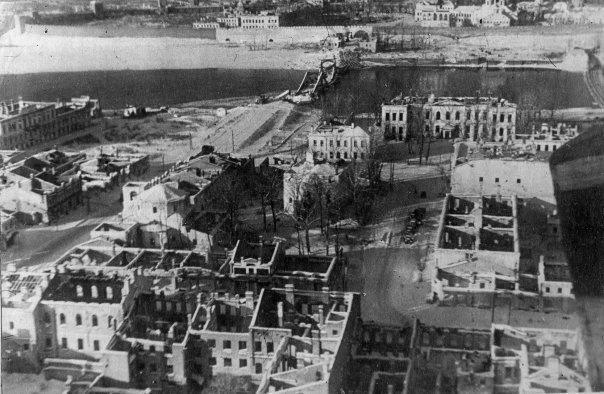Фото Новгорода во время Второй мировой войны