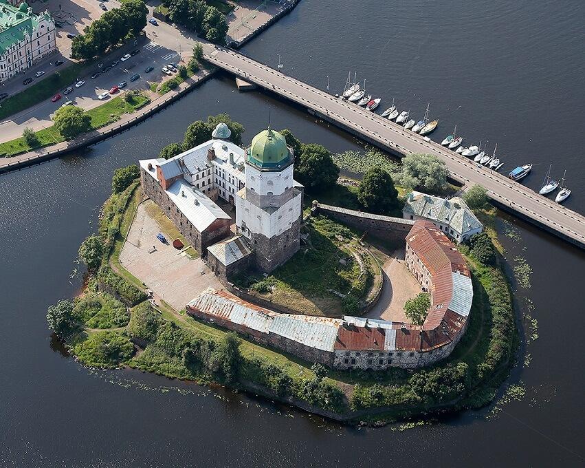 Фото Выборгской крепости