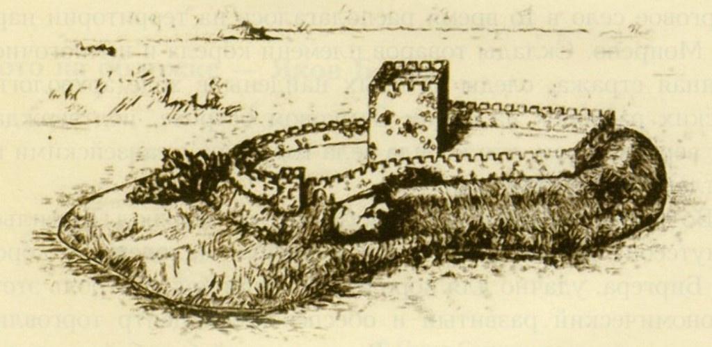 Фото древнего Выборга