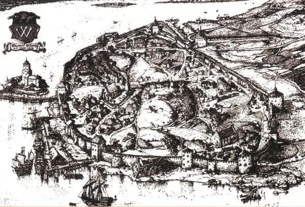 Фото средневекового Выборга